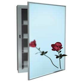 ASI Surface Mounted Stainless Steel Medicine Cabinet