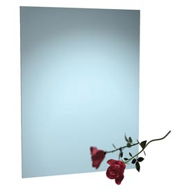 "ASI® Frameless Stainless Steel Mirror - 16""Wx24""H - 8026-1624"