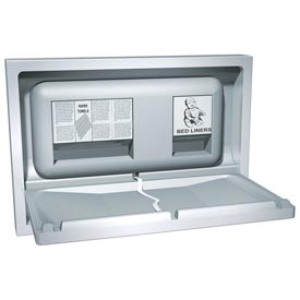 ASI Recessed Stainless Steel Baby Changing Station 9013 by
