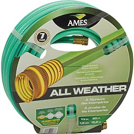 "Ames® 5/8"" X 50' All-Weather Garden Hose"