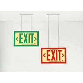 19.5 Inch Extended Ceiling Mount Bracket For Permalight® Framed Exit Signs