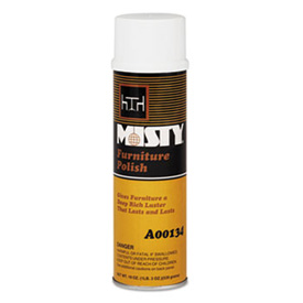 Misty® Wood Furniture Polish, 12/Case - AEPA13420