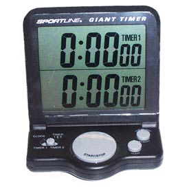 Clock Timer with Electronic Display by