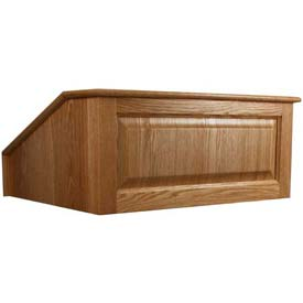 Victoria Non-Sound Tabletop Podium / Lectern - Cherry