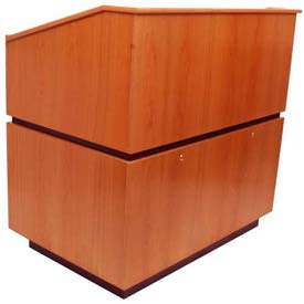 Coventry Non-Sound Podium / Lectern - Cherry