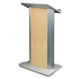 Hardrock Maple Contemporary Color Panel Podium / Lectern