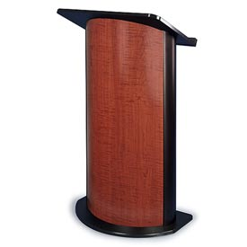 Sippling Seattle Java Contemporary Curved Podium / Lectern