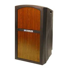 Buy Pinnacle Full Height Podium / Lectern Non Sound Medium Oak