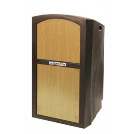Buy Pinnacle Full Height Podium / Lectern Non Sound Maple
