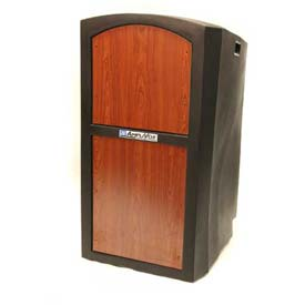 Buy Non-Sound Pinnacle Full Height Podium / Lectern Cherry
