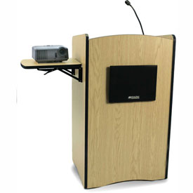 Multimedia Computer Podium / Lectern - Maple