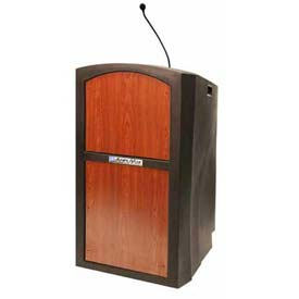 Buy Sound Ready Pinnacle Full Height Podium / Lectern Cherry