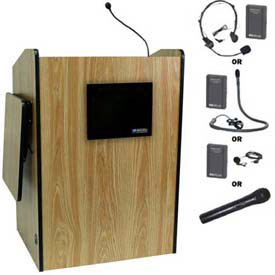 Buy Wireless Multimedia Presentation Plus Podium Medium Oak
