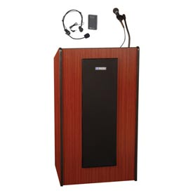 Wireless Presidential Plus Sound Podium / Lectern - Mahogany