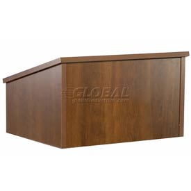 Tabletop Podium / Lectern Without Sound - Walnut