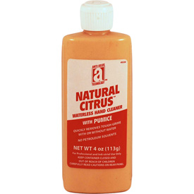NATURAL CITRUS w/Pumice, 4oz. Squeeze Bottle 24/Case 49204 Package Count 24 by