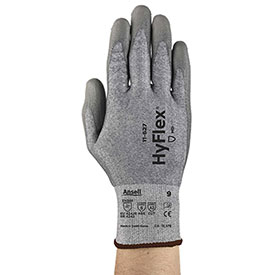 HyFlex® CR2 Dyneema® Cut Protection Gloves, Ansell 11-627-9, 1-Pair