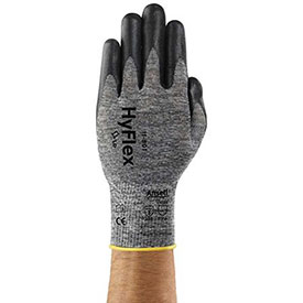 Hyflex Foam Gray™ Gloves, Ansell 11-801-7, 1-Pair