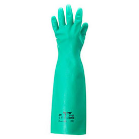 Sol-Vex Unsupported Nitrile Gloves, Ansell 37-185-10, 1-Pair