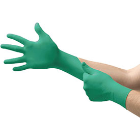 Touch N Tuff Disposable Gloves, ANSELL 92-500-7.5-8, 100 Gloves/Box by