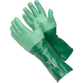 "Scorpio® Chemical Resistant Gloves, Ansell 8-354, 14""L, Gauntlet Cuff, Size 8, 1 Pair"
