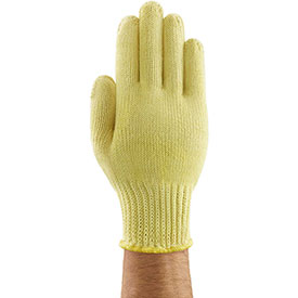 GoldKnit® Heavyweight Seamless Stringknit Gloves, Ansell 70-225, Size 9, 1 Pair