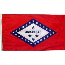 4X6 Ft. 100% Nylon Arkansas State Flag