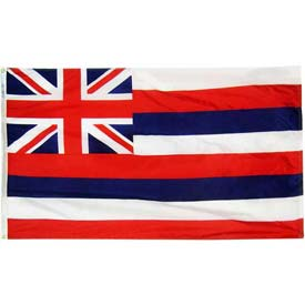 3X5 Ft. 100% Nylon Hawaii State Flag