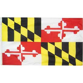 3X5 Ft. 100% Nylon Maryland State Flag