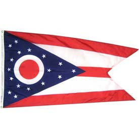 3X5 Ft. 100% Nylon Ohio State Flag