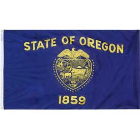 3X5 Ft. 100% Nylon Oregon State Flag