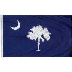 3X5 Ft. 100% Nylon South Carolina State Flag