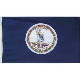4X6 Ft. 100% Nylon Virginia State Flag
