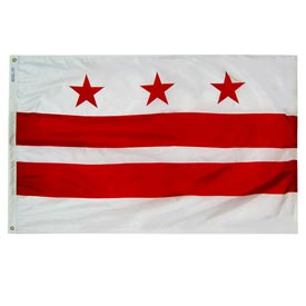 Buy 3X5 Ft. 100% Nylon District of Columbia State Flag
