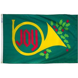 3X5 Ft. 100% Nylon Joy Horn Flag