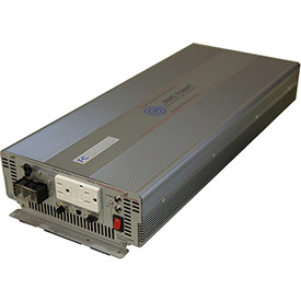 AIMS Power 3000 Watt Pure Sine 24VDC Inverter with GFCI, PWRIG300024120S by