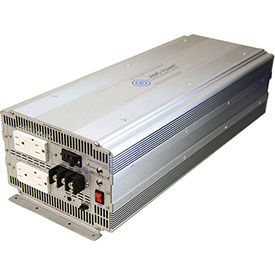 AIMS Power 5000 Watt Pure Sine Power Inverter with GFCI, PWRIG500012120S by
