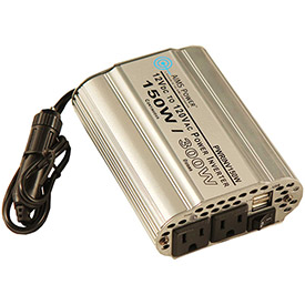 Click here to buy AIMS Power 150 Watt Lightweight Power Inverter, PWRINV150W.