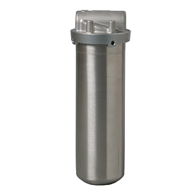 3M Aqua-Pure AP1610SS, One High Stainless Steel Filter Housing 3/4 NPT Horizontal
