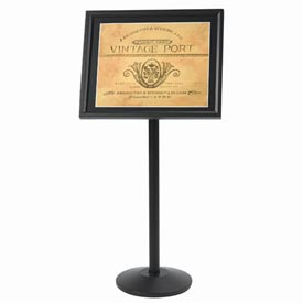 "Aarco Small Menu And Poster Holder Black - 24""W x 20""H"