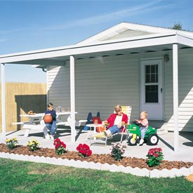 Arrow Shed 10' x 10' Attached Carport