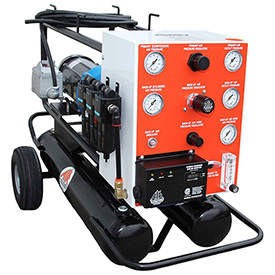 Air Systems International Explosion-Proof Auto-Air Compressor System, Hansen, TA3-AXAF by