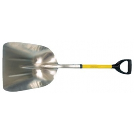 "AMPCO S-80FG Non-Sparking Shovel Scoop W/ Fiberglass Handle & D-Grip, 40"" OAL by"