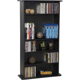Atlantic® Drawbridge Multimedia Cabinet in Black