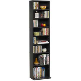 Atlantic® Summit Media Storage Cabinet 261 CD or 114 DVD Or 132 Blu-Ray in Espresso