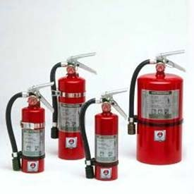 Fire Extinguisher, 2.5 Lb Halotron® 1, Mercury 2-1/2, Mark Bracket