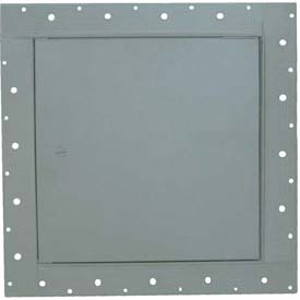 "Concealed Frame Access Panel For Wallboard, Cam Latch, Gray, 8""W x 8""H"