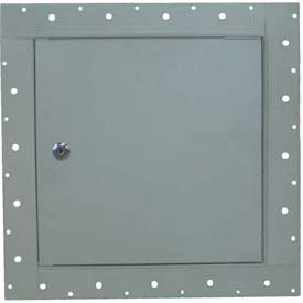 "Concealed Frame Access Panel For Wallboard And Lock, Gray, 24""W x 24""H"