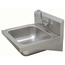 Standard Wall Mounted Hand Sink With Large 16x20x8 Bowl