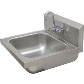 Standard Wall Mounted Hand Sink Large 16x14x8 Bowl
